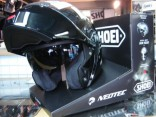 Casque modulable neotec noir brillant/matt