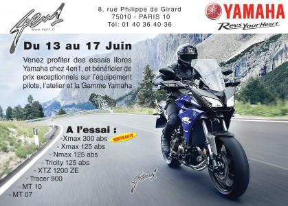 Les Essais Libres 4en1 Yamaha