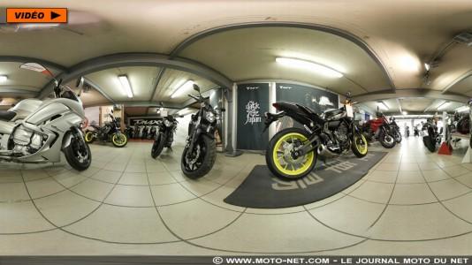 Visitez la concession Yamaha 4en1 à 360°
